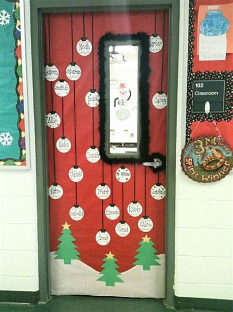 best 25 christmas classroom door ideas on pinterest