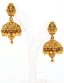 gold earring design gold earrings tops designs for