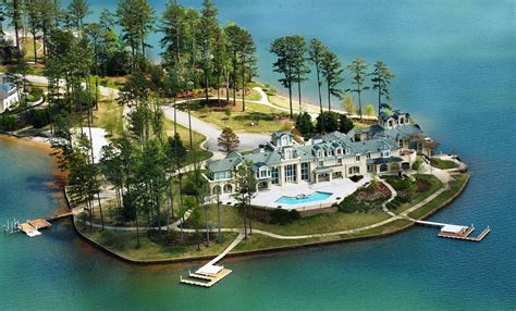 Luxury Mansions Floor Plans by Alexander City Al Waterfront Mansion Homes Of The Rich