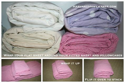 How To Fold Sheets For Linen Closet by 100 Ideas To Help Organize Your Home And Your