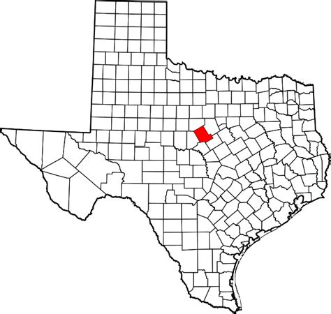 comanche texas map file map of texas highlighting comanche county svg wikimedia commons