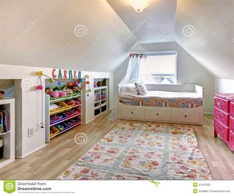 house of kids bedrooms kids room in old house stock photo image 41431922