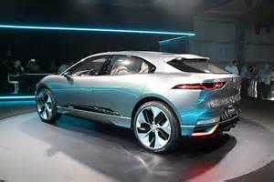 Jaguar Concept Jaguar I Pace Concept Delivers Range Performance