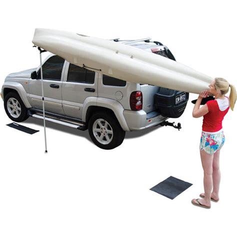 Side Loading Roof Rack by Rhino Rack Rusl Universal Side Loader Kayak Load Assist