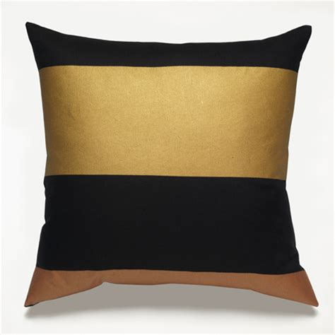 Gold And Black Pillows by S Inspiration Black And Gold Home Decor
