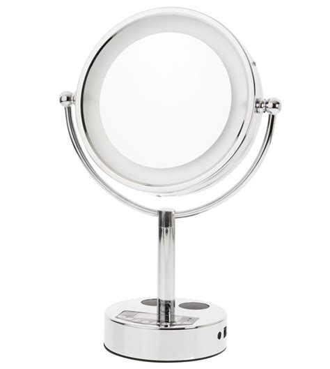 vanity mirror with lights and bluetooth vanity mirror danielle l e d bluetooth in makeup mirrors