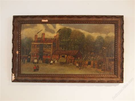 cloverleaf home interiors browse antiques antiques atlas folk art naive oil the halfway house