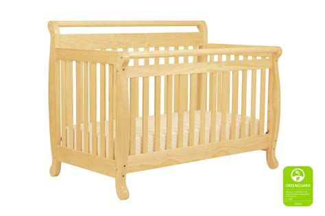 Emily 4 In 1 Convertible Crib Davinci Baby Davinci Emily 4 In 1 Convertible Crib With Toddler Rail