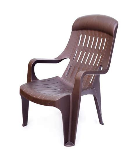 Nilkamal Weekender Garden Chair by Nilkamal Weekender Garden Chair Weather Brown Buy