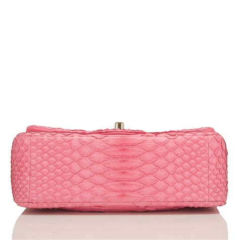 Chanel Classic Snake Co1 3 chanel pink python rectangular mini classic flap bag