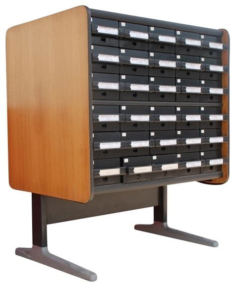 Index Card File Cabinet index card file cabinet eclectic furniture new york by second shout out