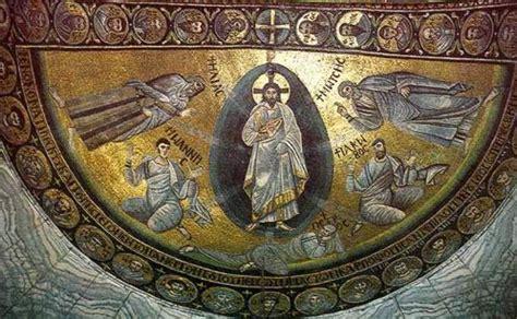 church of the virgin transfiguration of jesus the mosaic of the transfiguration icon in the monastery