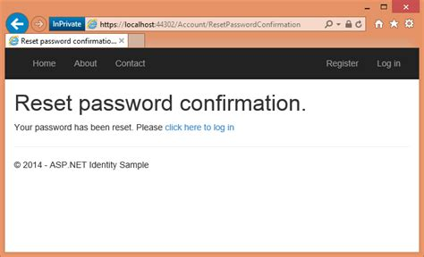 password change email template account confirmation and password recovery with asp net