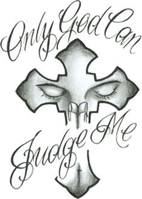 only god can judge me tattoo with cross 1000 images about only god judge me tattoos on
