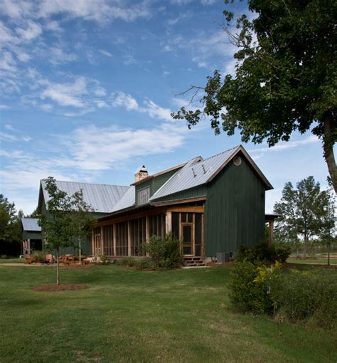 Country Home With Wrap Around Porch sunflower farm cabin farmhouse exterior jackson by