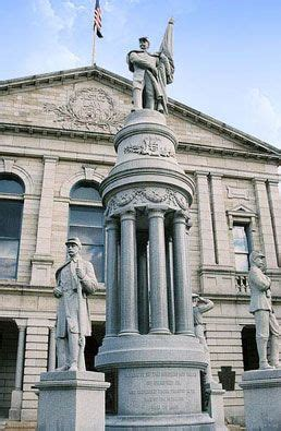 the seat towanda pa bradford county court house and war memorial statues