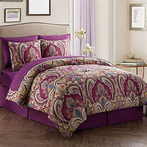 bed bath and beyond bed in a bag buy vcny alissia bed in a bag reversible queen comforter
