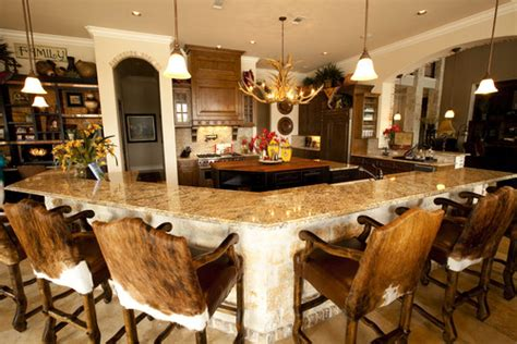 western rustic kitchen images home decor and interior do you have swivel bar stools with cowhide and if so what