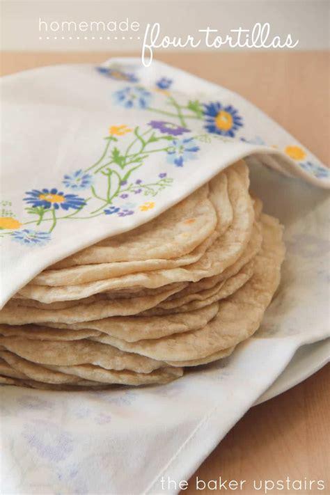 Handmade Flour Tortillas - flour tortillas