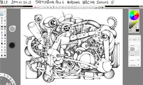 sketchbook pro wacom wip sketchbook pro wacom intuos 5 by keith0186 on