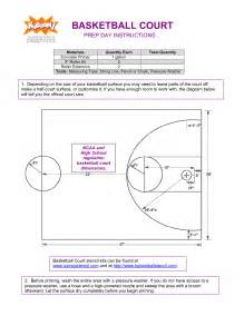 backyard basketball court dimensions best photos of backyard basketball half court dimensions