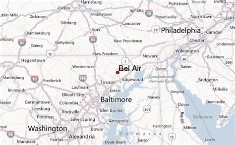 maryland map bel air bel air maryland location guide