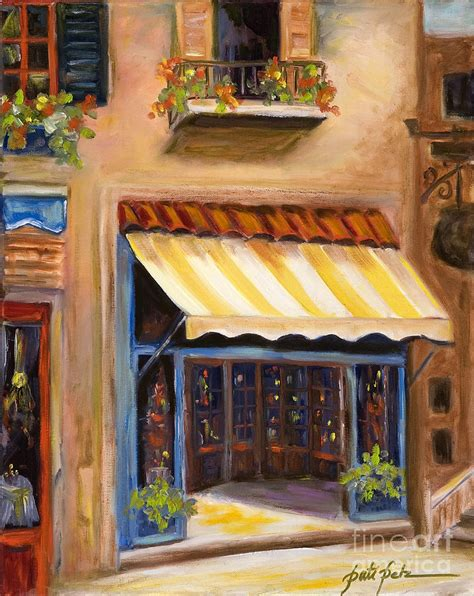 painting awnings yellow and white awning painting by pati pelz
