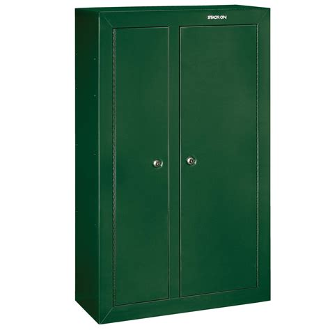 stack on 10 gun cabinet stack on gcdg 924 gun cabinet double door security cabinet