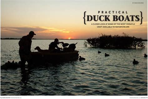 layout boat hunting lake erie practical duck boats
