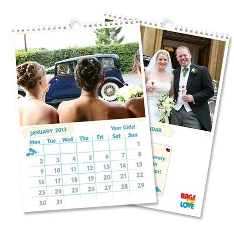 Personalised Calendars Personalised Photo Calendars 2016 A3 And A4 Buy 2 Get 1 Free