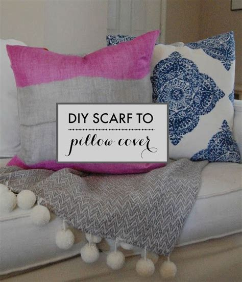 Diy Pillow Covers No Sew by 1000 Ideas About No Sew Pillow Covers On No