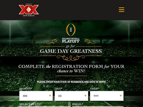 Dos Equis Instant Win - dos equis go for game day greatness sweepstakes