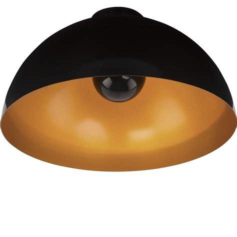 deckenleuchte schwarz deckenleuchte hemisphere schwarz gold schwarz gold wohnlicht