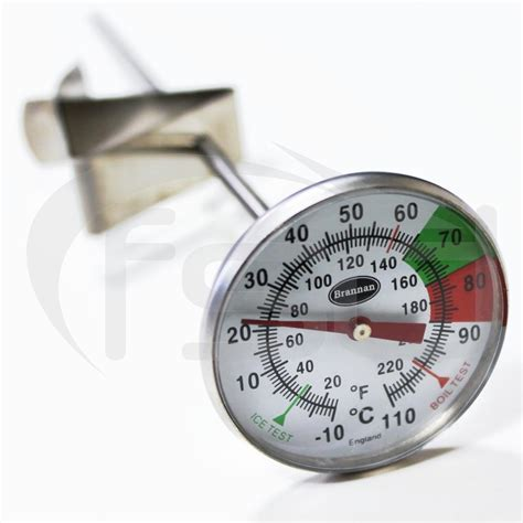 Termometer Oven milk and coffee thermometer 175mm stem oven and