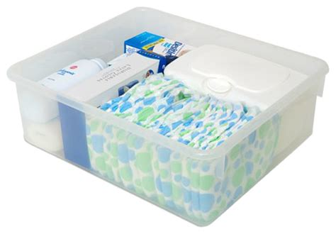 changing table storage bins foundations baby nursery accessory changing table
