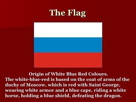 russian colors symbols of russian federation