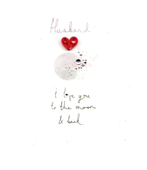 To The Moon And Back Valentines Day Card Template by Husband I You To The Moon Back S Day Card