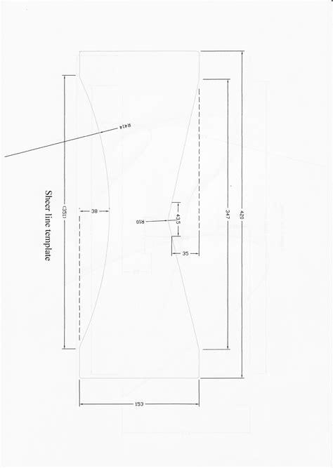 measurement template mosquito catamaran measurement templates