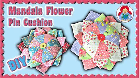 japanese pincushion pattern diy mandala flower pin cushion free pattern download