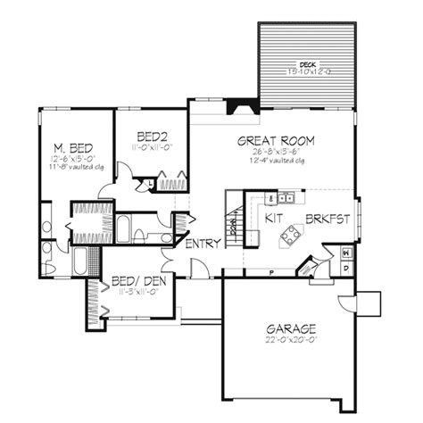floor plans by shamrock homes shamrock hills ranch home plan 072d 0252 house plans and