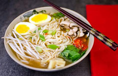 miso ramen noodle soup recipe  scratch astroeater