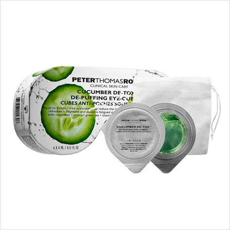Roth Cucumber Detox Eye Mask by 6 Wacky But Amazing Masks You To Try