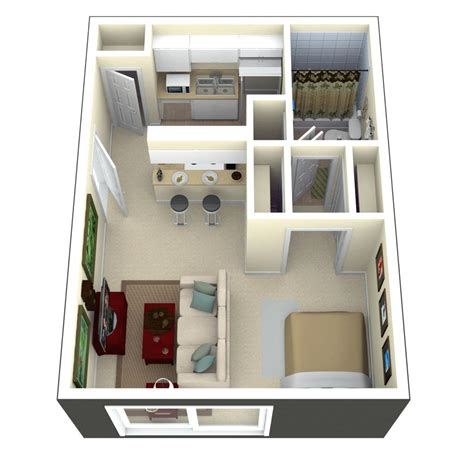 300 sq ft home plans