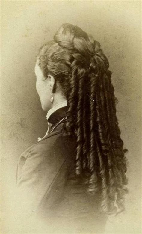how to do victorian hairstyles for long hair 16 best victorian hairstyles images on pinterest