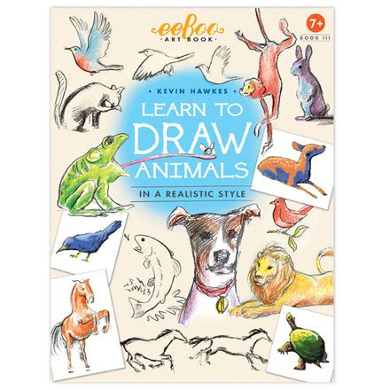 How To Draw Animals Book book 3 learn to draw animals eeboo