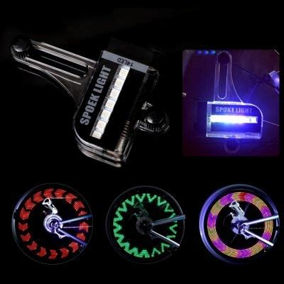14 troline with led lights leadbike a02 14 led bicycle spoke light with 30 patterns