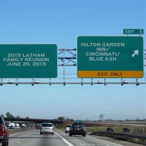 Garden Inn Cincinnati Blue Ash by Heading To The 2015 Latham Family Reunion In Cincinnati