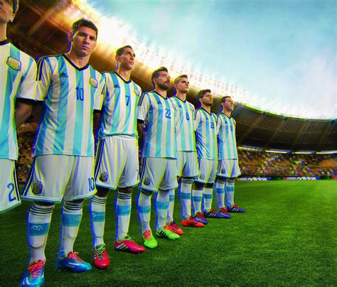 Argentina World Cup 2014 by Argentina National Football Team 2014 Wallpaprs Football