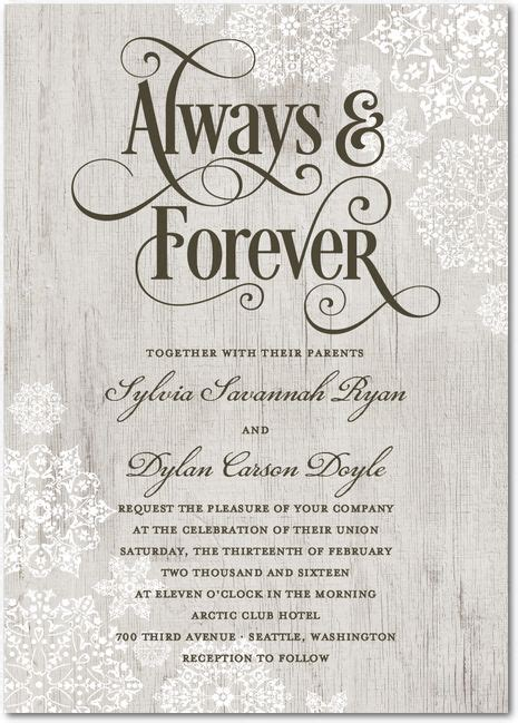 Best 25  Winter wedding invitations ideas on Pinterest