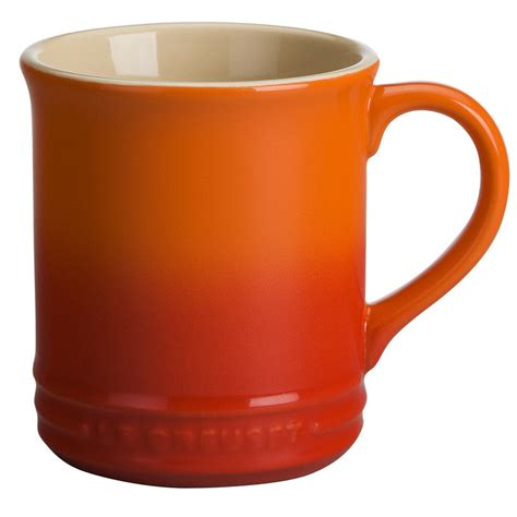 coffe mug le creuset stoneware 12 oz coffee mug reviews wayfair